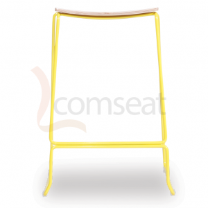 Ardent_Counter_Stool__Yellow_Frame_with_Oak_Seat_0
