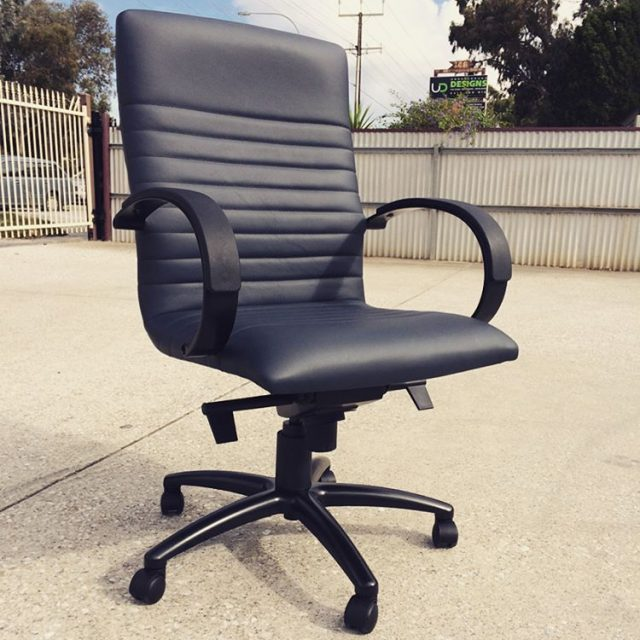 Affair Executive chair with decorative stitching and custom coated armshellip