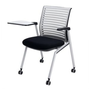 Tek chair with arms and tablet 01