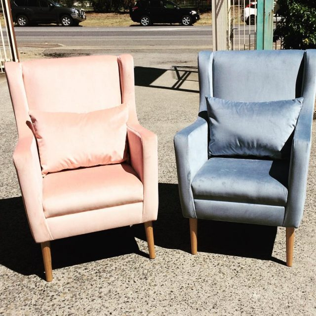 Donating these Angove chairs to the flindersfoundation pinkyellowblue Ball forhellip